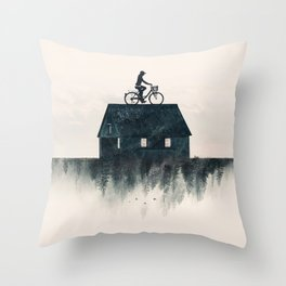 Ride Home Throw Pillow
