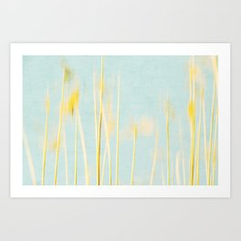 reed abstract 4 Art Print
