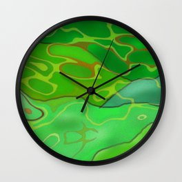 Going Throught Wall Clock