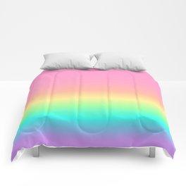Pastel Rainbow 4 Comforters