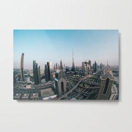 Dubai 32 Metal Print