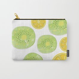Tropical Mix Lemon and Kiwi Carry-All Pouch