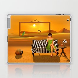 Exotic living in the desert Laptop & iPad Skin