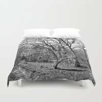 spanish Duvet Covers featuring Spanish Moss by Eric Vogt