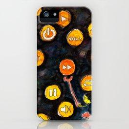 I want Fast Forward! iPhone Case