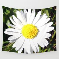 daisy Wall Tapestries featuring Daisy by The Wellington Boot