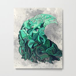 Fluctus Metal Print