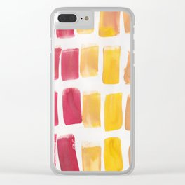 14 | 190321 Watercolour Abstract Painting Clear iPhone Case