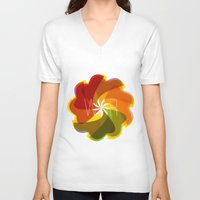 war V-neck T-shirts featuring war by Helmo Studio