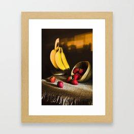 Fruit Still Life Framed Art Print