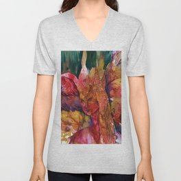 Fire Fairy by Kathy Morton Stanion Unisex V-Neck