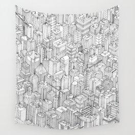 Isometric Urbanism pt.1 Wall Tapestry