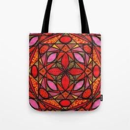 Red Zen Love Tote Bag