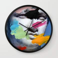 Composition 496 Wall Clock