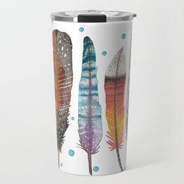 Feathers III Travel Mug