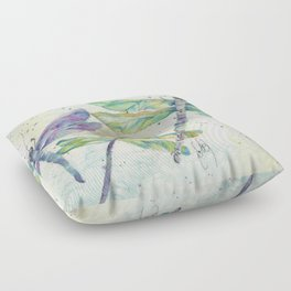 Xena's Dragonfly Floor Pillow