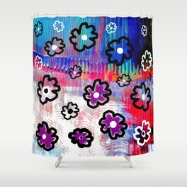 Brane flowers S33 Shower Curtain