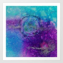 Into the Galaxy No. 1 Art Print