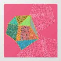 diamonds Canvas Prints featuring Diamonds by Sandra Arduini