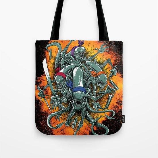 Bay's Alien turtles! Tote Bag