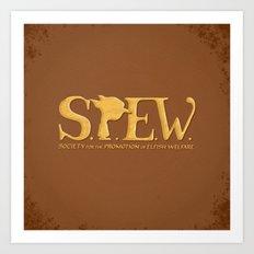 SPEW Our Manifesto Art Print