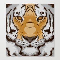 Tiger OW Canvas Print