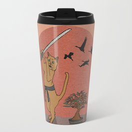 Karate Kat Travel Mug