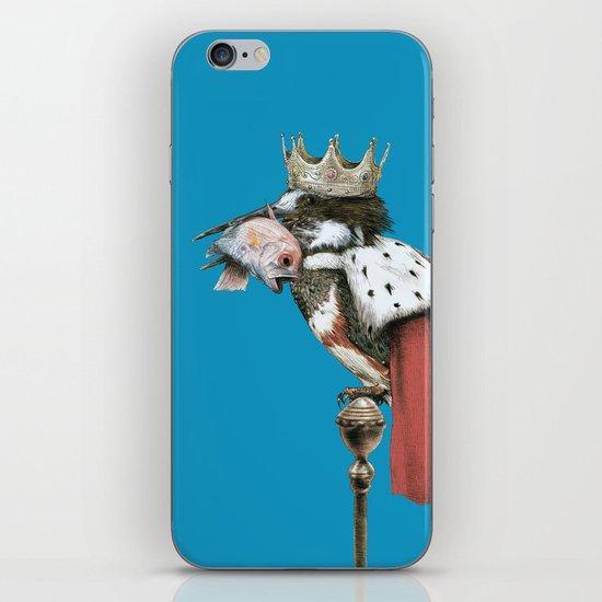 Kingfisher (Blue Option) iPhone & iPod Skin