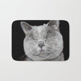 Cat Paparazzi Bath Mat