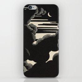 Félix Vallotton Wolken, 1890 Midnight Moon Night Clouds iPhone Skin