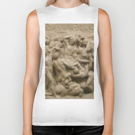 "Michelangelo ""Battle of the Centaurs"" Biker Tank"