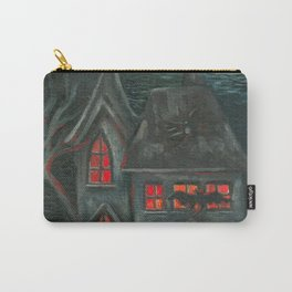 Spooky House Carry-All Pouch