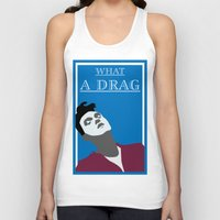 smiths Tank Tops featuring What a drag (The Smiths) by Trendy Youth