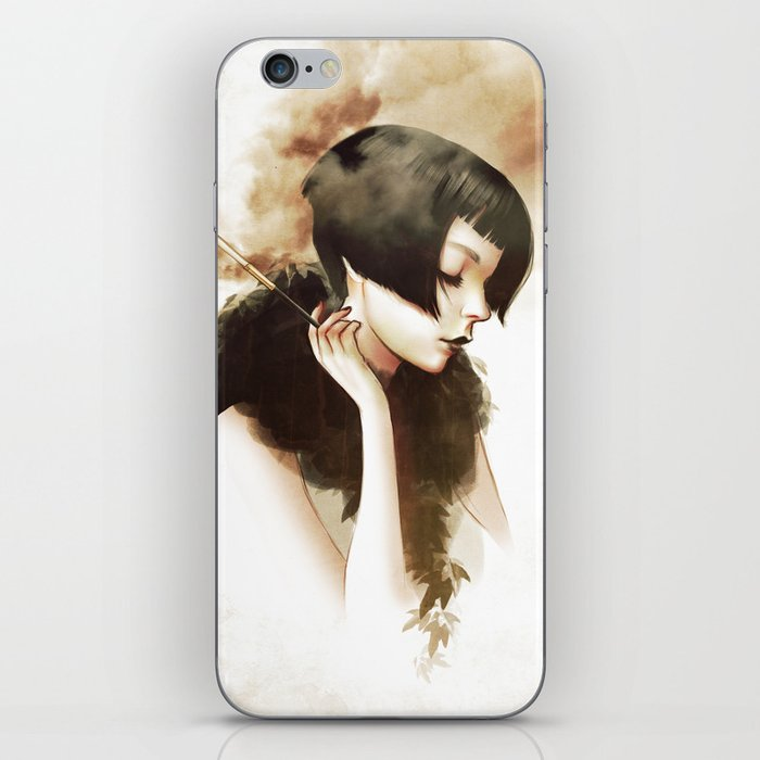 Overwhelmed iPhone Skin