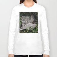 concrete Long Sleeve T-shirts featuring concrete by Ruud van Koningsbrugge