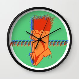 Meep in Three Wall Clock