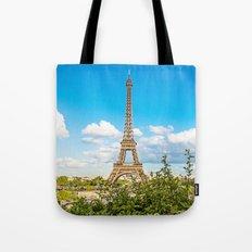 Cloud 9 - Eiffel Tower Tote Bag