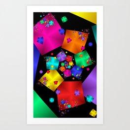 fractal geometry -121- Art Print