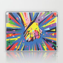 Band Together - Pride Laptop & iPad Skin