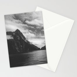 milford clouds Stationery Cards