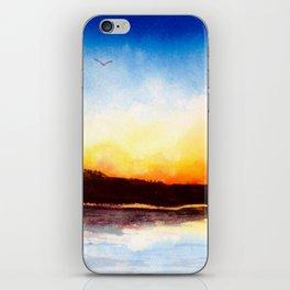 River Sunset iPhone Skin