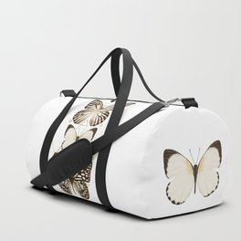 butterflies and gold geometry Duffle Bag