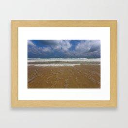 Surf on Karon Beach Framed Art Print