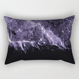 Ultra Violet Marble #1 #decor #art #society6 Rectangular Pillow
