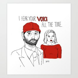 Paris, Texas Art Print