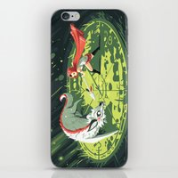 wallet iPhone & iPod Skins featuring Duel by Freeminds
