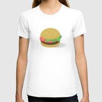 hamburger T-shirts featuring Hamburger by brittcorry