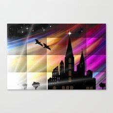 Farbiger Himmel. Canvas Print
