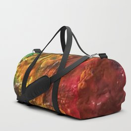 Mixed Paint Rainbow Duffle Bag