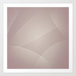 Silk, Swirl, Thatch & Del Rio Colors Art Print